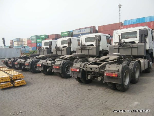 HOWO tractor truck for export zambia