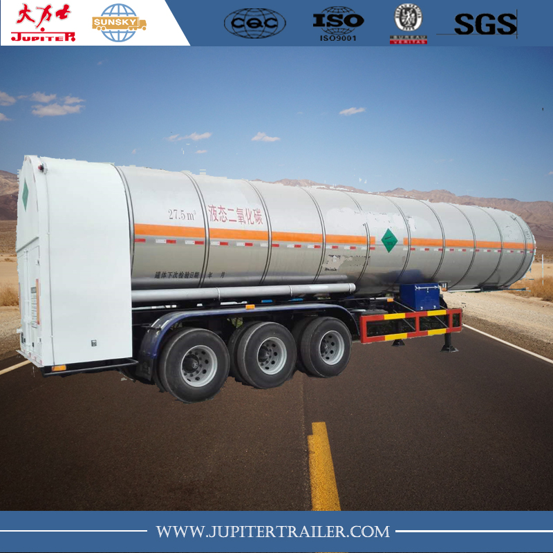 European type 3-Axle LNG Tank Semi-Trailer