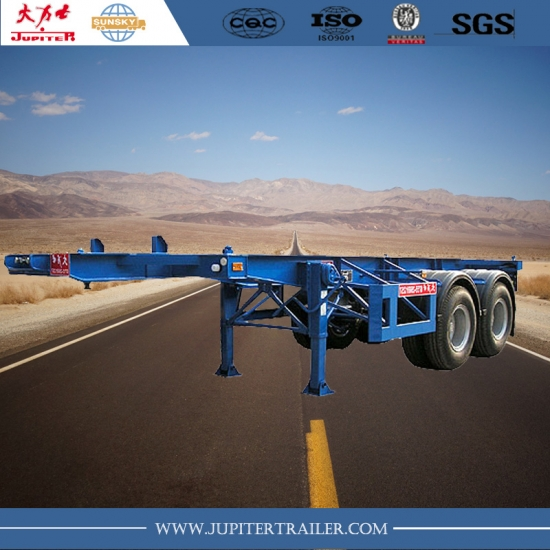 20ft 2-Axle Skeletal Semi-Trailer