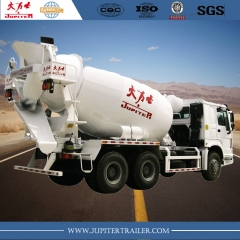 HOWO Brand 371HP 10wheels 10cbm Concrete Mixer Truck