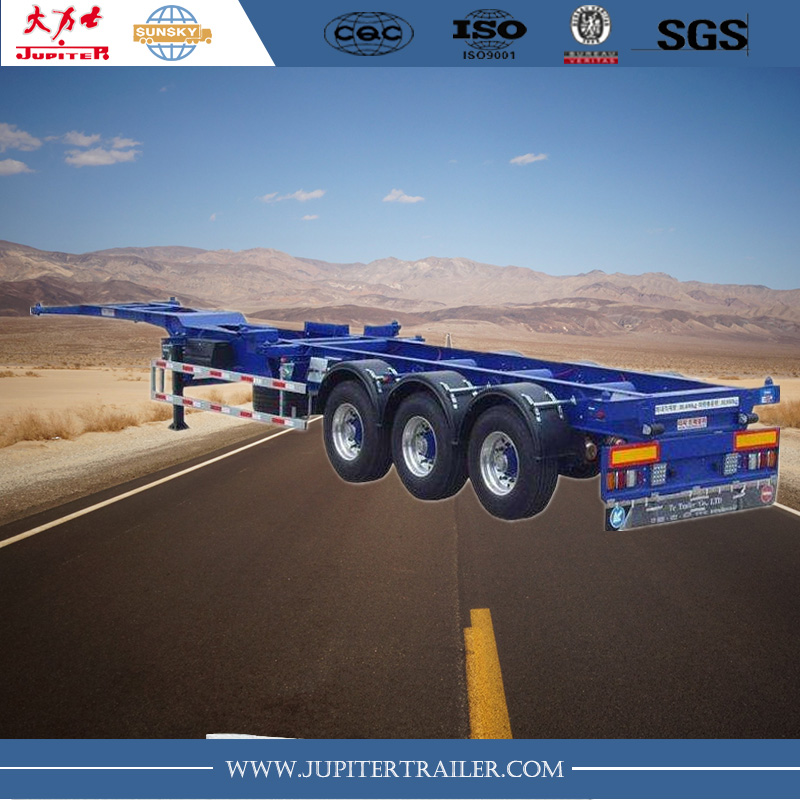 40 foot Skeleton container Trailer