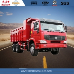 China sinotruck howo tout nouveau camion benne 371hp 6x4