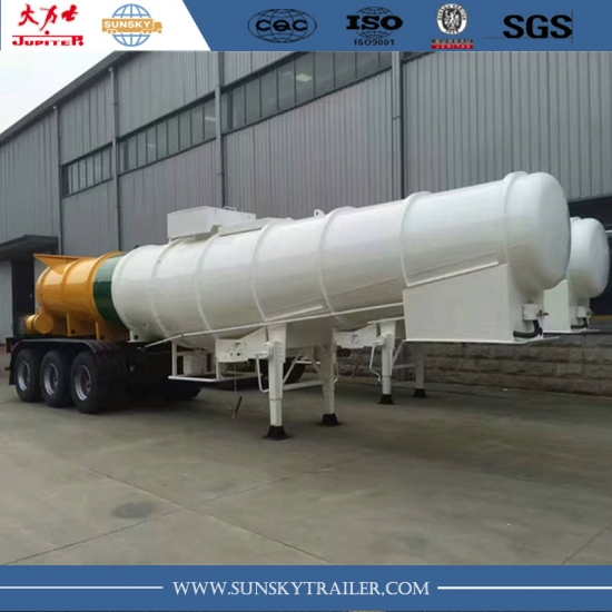 V shape  sulphuric acid tanker semi-trailer