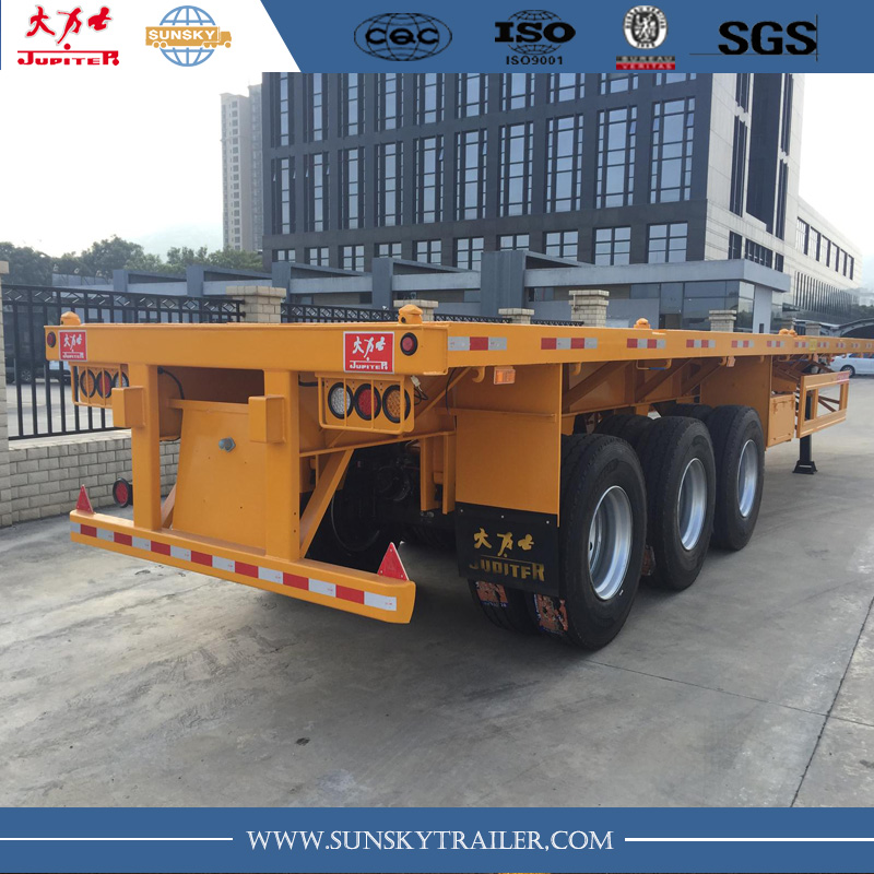 40ft flatbed semi-trailer manufacturer