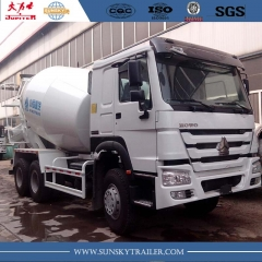 Camion de 6 X 4 camion toupie SINOTRUCK HOWO marque 371HP