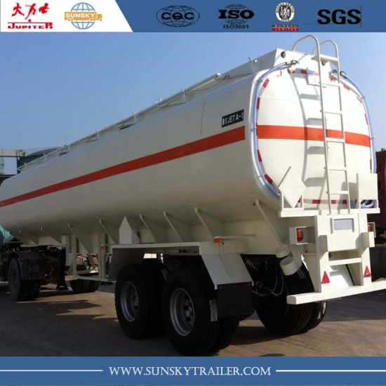 Aviation Fuel Tanker Trailers