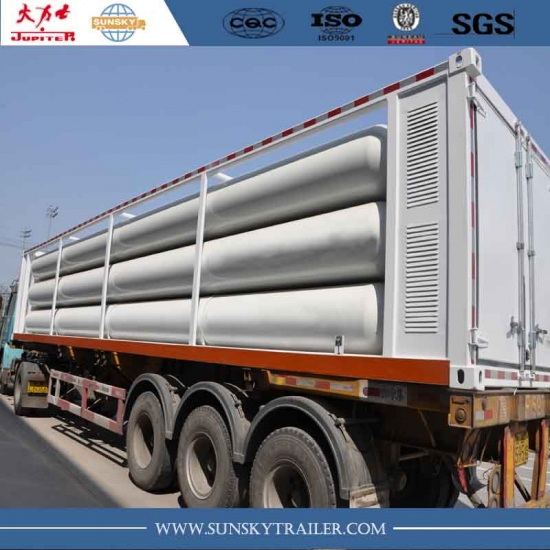 CNG Tube Skid Container Trailer