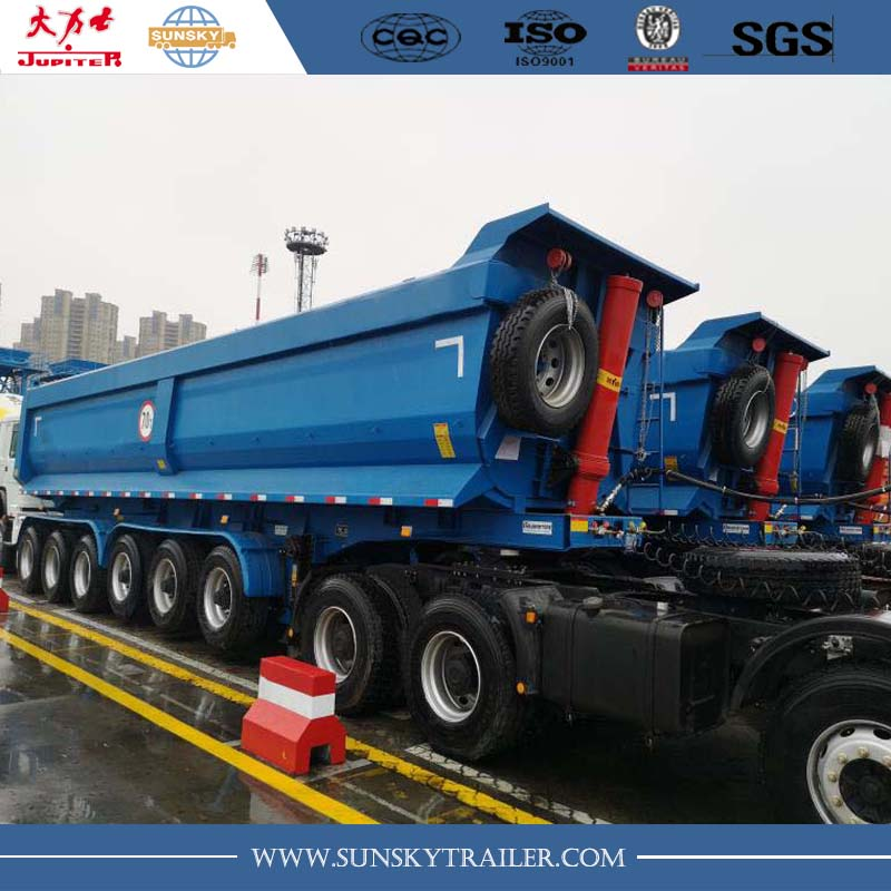 6 Axle Dump Trailer supplier